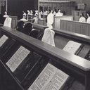 Singing the Divine Office in Choir.